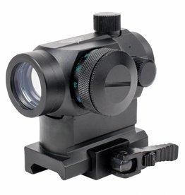 Valken Valken V Tactical Red Dot 1x22 R/G/B Dual w/Weaver QR