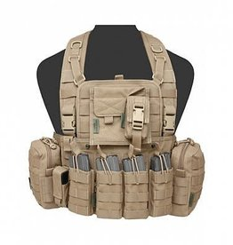 Warrior Assault Systeem 901 Elite M4 with Zip Coyote Tan W-EO-901-EL4-CT