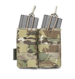 Warrior Assault Systeem Dubbel M4 Molle Open M4 5.56mm Mag Pouch multicam w-eo-dmop-mc
