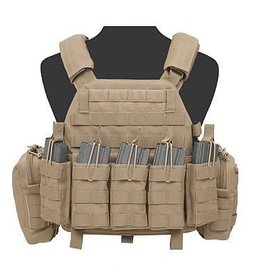 Warrior Assault Systeem DCS BASE M4 open Coyote brown W-EO-DCS-DA-5.56-M-CT W-EO-DCS-DA-5.56-L-CT