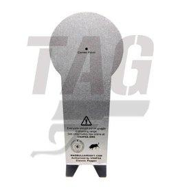 Madbull AIPSC Popper 1mm Aluminium 5pcs