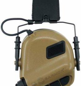 OPSMEN Earmor M32-MOD3 Brown Professional Electronic Earmuff TAN M32-MOD1 Brown