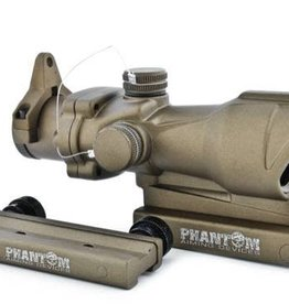 Phantom Tactical 4x32 Riflescope ACOG (Desert Color) 4x32ABKDE