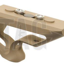 Metal CNC Keymod Short  Angled Grip