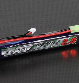 Turnigy Nano-tech 2000mah 2S 15 25C Lipo AIRSOFT Pack