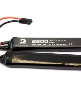 WE 2600mah 7.4v 20c Lipo Nunchuck Type
