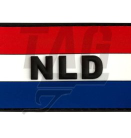 Netherlands Rubber Patch Color
