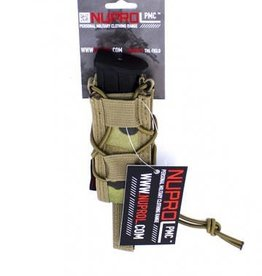 Nuprol NUPROL PMC Pistol Open Top Pouch  NP Camo Multicam