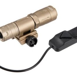 OPSMEN Earmor Fast 301R Tan Flashlight picatinny