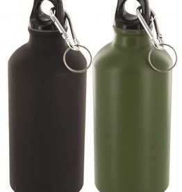 Highlander Highlander 500Ml Alu Bottle Black/Olive