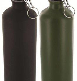 Highlander 1 Liter Aluminium Bottle Black/OD