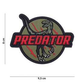 3D PVC Predator rood