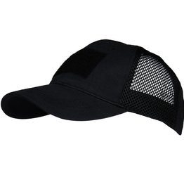 Baseball cap Mesh tactical Black