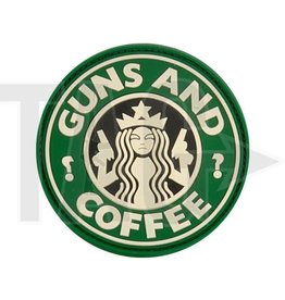 Guns and Coffee Rubber Patch