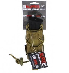 WE NUPROL PMC Pistol Open Top Pouch  TAN