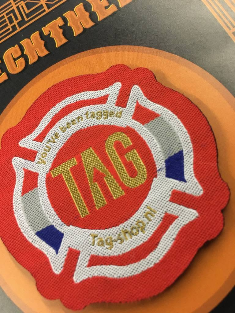 Limited Edition TAG-SHOP gold patch2018