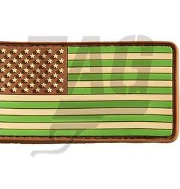 US Flag Rubber Patch (Multicam)