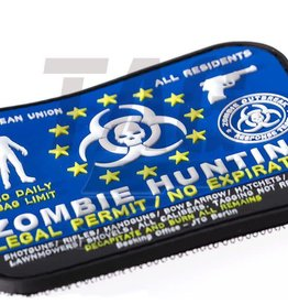101 inc Zombie Hunter Rubber Patch