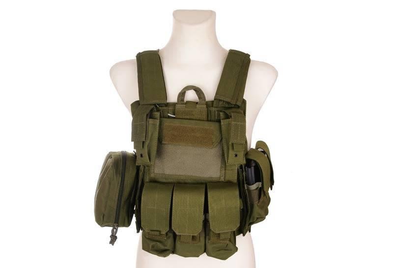 GFC Tactical CIRAS Maritime type vest - OD