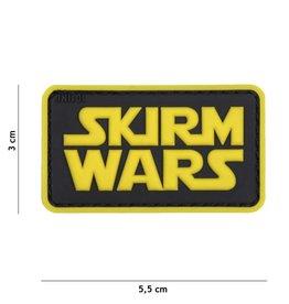 101 inc SKIRM WARS GEEL pvc patch