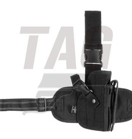 Invader Gear Dropleg Holster Black Left of right handed
