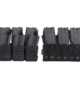 101 inc Triple stacker M4 open mag pouch