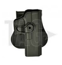 IMI Defense Glock 17/22/28/31 Holster Black, OD of tan