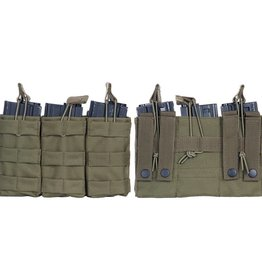 101 inc Triple M4 open mag pouch