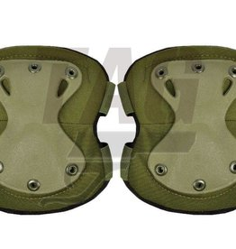 Invader Gear XPD elbow Pads OD, Black en coyote brown