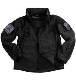 101 inc Soft Shell jack tactical Black