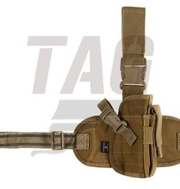 Invader Gear Dropleg Holster Coyote Brown Left of right handed