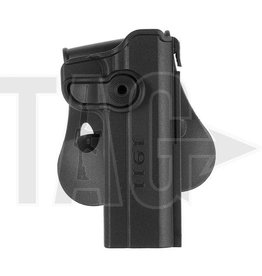 IMI Defense M1911 Holster Black, OD of tan