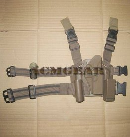 TAG-GEAR Blackhawk Style CQB Holster Set (Tan, Glock 17/19/31)