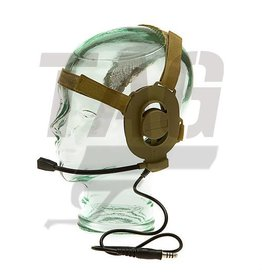 Z-Tactical Elite II Headset Foliage Green of Desert Color