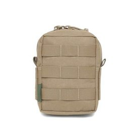Warrior Assault Systeem MOLLE Small Utility/Medic Pouch Zipped (COYOTE TAN) W-EO-SMUP-CT