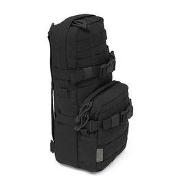 Warrior Assault Systeem Elite Ops Black Cargo Pack with Hydration (WATER) Pocket/Compartment (Black)