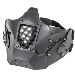 Evolution airsoft Copy of IRON MASK DOUBLE BELT + FAST HELMET MOUNT TAN