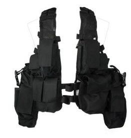 Fosco tactical vest Black