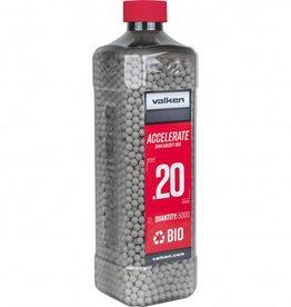 Valken Tactical 0.20G Bio 5000ct Bottle white