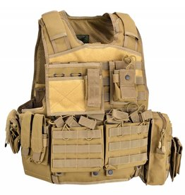 Defcon5 Defcon5 BODY ARMOR CARRIER SET Tan BAV06