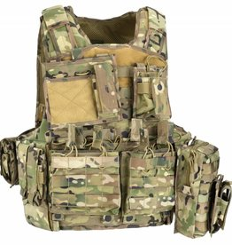 Defcon5 Copy of BODY ARMOR CARRIER SET Black BAV6