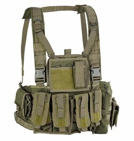 Defcon5 Copy of MOLLE RECON CHEST RIG Black RC901