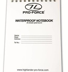 Highlander Waterproof Notebook Refill 15x10.5cm MA066