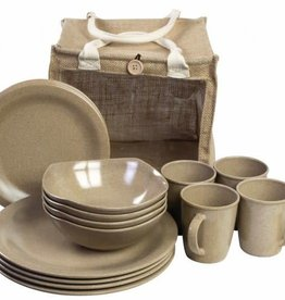 Highlander Highlander 16pc Eco-Friendly Picnic Set