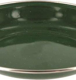 Highlander Highlander Deluxe Enamel Soup Plate Green