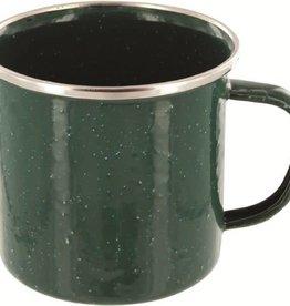 Highlander Highlander Deluxe Enamel Mug Green
