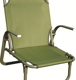 Highlander Highlander Kirkin Steel Beach Chair Olive
