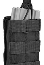 Defcon5 DEFCON5 SINGEL MAG POUCH Black WITH QUICK EXTRACTION CAL. 5,56