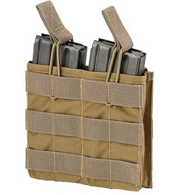 Defcon5 DEFCON 5 DOUBLE OPEN AMMO POUCH Coyote Tan