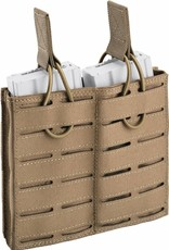 Defcon5 DEFCON 5 DOUBLE OPEN AMMO POUCH Coyote Tan Laser Cut